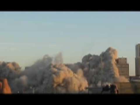 Baptist Memorial Hospital - Implosion
