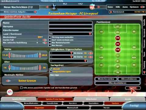Let S Play Fifa Manager 05 1
