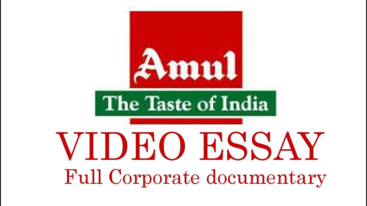 amul essay 9 Brand awareness of amul through amul vidyashree and amul vidyabhushan awards submitted by bhushan persingwar under the essay examples sales.