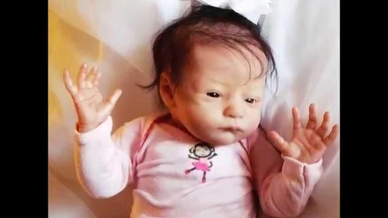 For Sale Realistic Lifelike Newborn Reborn Baby Girl Doll