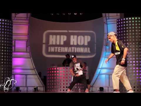 Larry vs Majid | All Styles Semi's | Hip Hop Int'l World Battles 2013 | #SXSTV