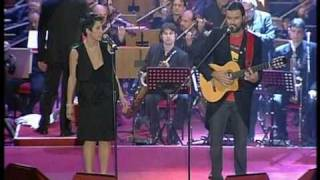 AGUA Gerardo Di Lella Big Band & Jarabe De Palo y Malika Ayane Concerto di Natale 2009 RAI2 Catania