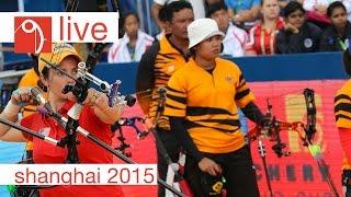 Live Session: Compound Team Finals  Shanghai 2015