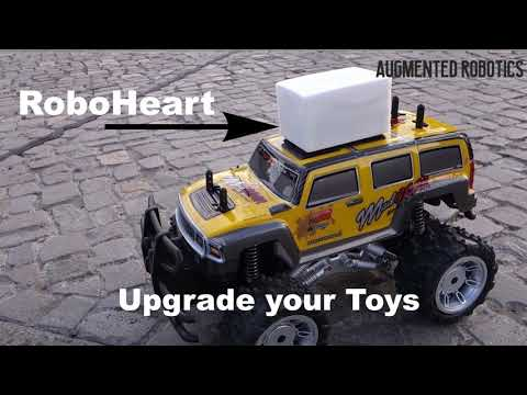 Control every RC Toy with your Smartphone and play AR Games! RoboHeart pre-alpha trailer