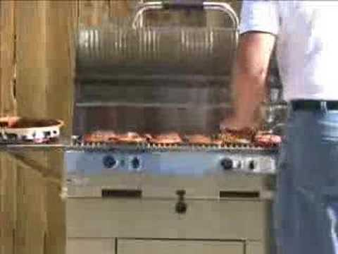Electri Chef Electric Bbq Grill Cooking Demo Video