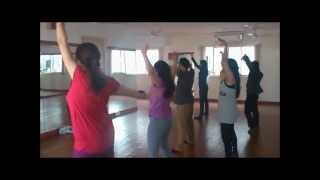 Beginner Bollywood choreography to Hookah bar Khiladi 786 at Dancend