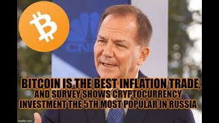 Bitcoin Is The Best Inflation Trade and Survey Shows Cryptocurrency Investment the 5th Most Popular