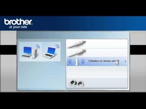 win7 configurer mon imprimante sans fil brother sans. Black Bedroom Furniture Sets. Home Design Ideas