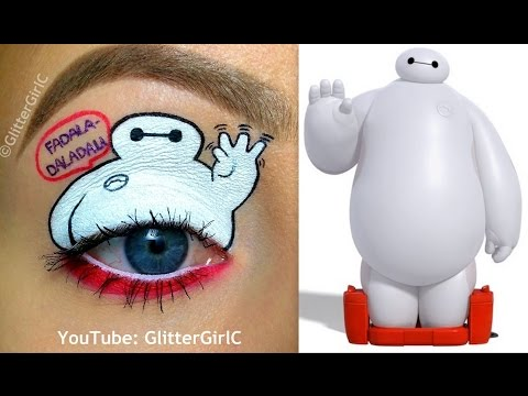 Baymax Makeup Tutorial - Disney's Big Hero 6