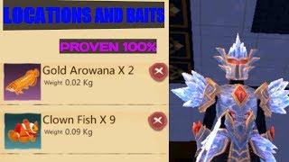 LOKASI DAN BAIT CLOWN FISH GOLD AROWANA - UTOPIA:ORIGIN #22