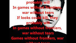Peter Gabriel- Games Without Frontiers with Lyrics