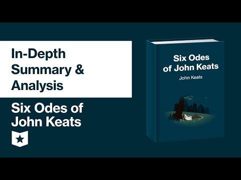 Six Odes of John Keats | In-Depth Summary & Analysis
