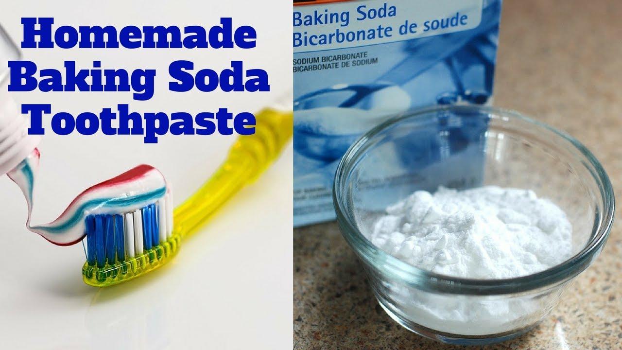 Homemade Baking Soda Toothpaste - YouTube