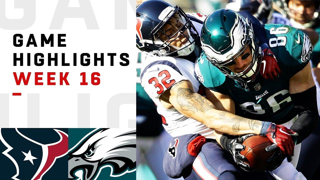Texans vs. Eagles Week 16 Highlights   NFL 2018 - NFL thumbnail