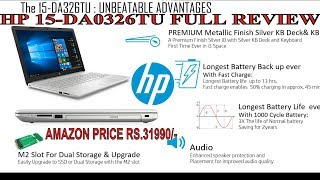 HP 15-da0326tu laptop Full Review latest 2018.