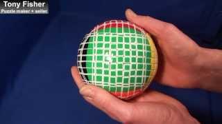 11x11x11 v ball by tony fisher custom made rubik s v cube mefferts type twisty puzzle