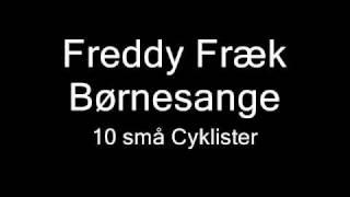 Freddy Fræk - 10 små Cyklister