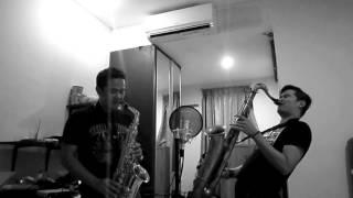 Bang bang - Jessie J, Ariana Grande, Nicki Minaj (saxophone alto tenor cover by erick giri & pursax)