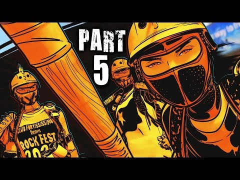 Sunset Overdrive Walkthrough Gameplay Part 5 - Max's Parents (Xbox One)