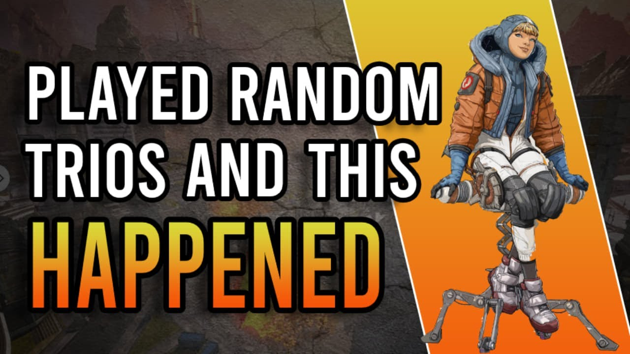 I Can't Believe This Happened! (Apex Legends PS4)