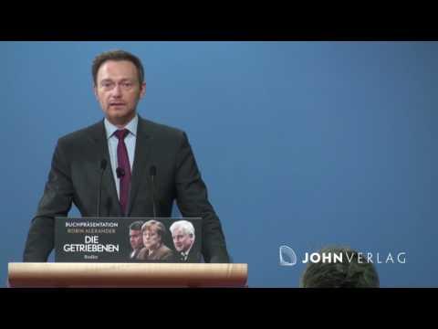 FDP Chef Christian Lindner zu Die Getriebenen (Robin Alexander), 13.03.2017, Berlin