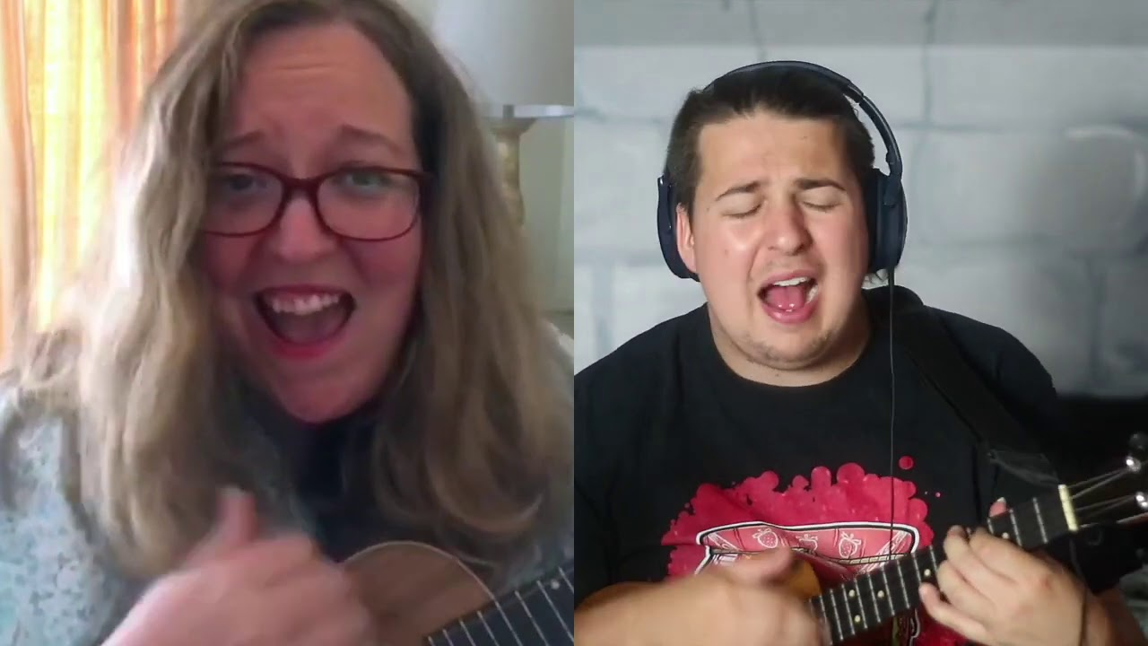 Marc Gallagher-Whats Up (4 Non Blondes Ukulele Cover with Tara Maysey of the London Ukulele Project)