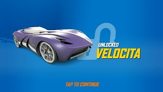 UNLOCKED VELOCITA HOT WHEELS RACE OFF NEW UPDATED LEVEL HIGH SPEED