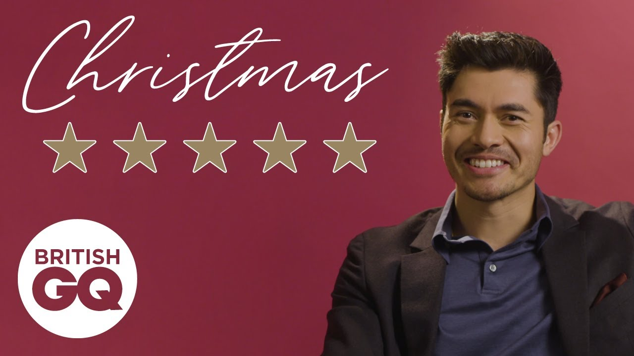 Henry Golding rates the best and worst things about Christmas | British GQ