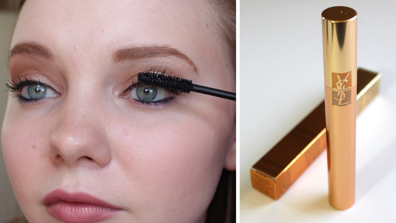 Ysl Luxurious Mascara For A False Lash Effect First Impressions