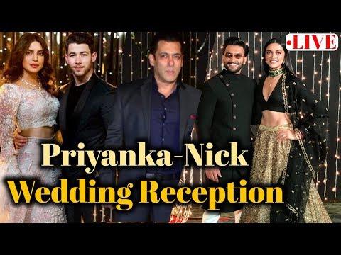 LIVE: Priyanka Chopra & Nick Jonas GRAND Wedding Reception | Salman, Katrina | Full Video Mp3