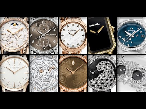 Luxury watches for women 2019 the best women 39 s watches youtube for Celebrity watches 2019 women