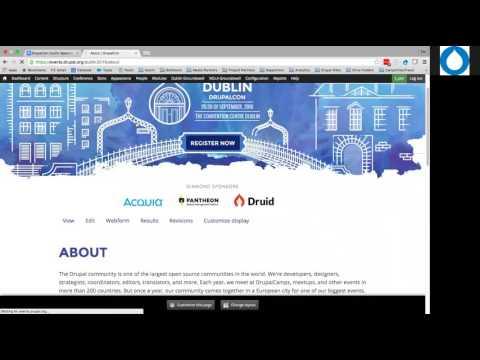 DrupalCon Dublin 2016: About Your DrupalCon Dublin Sponsorship