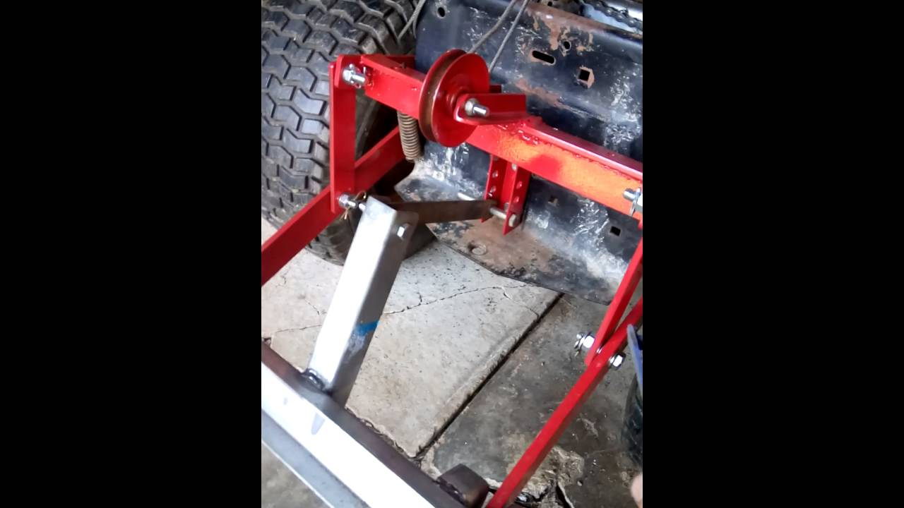 ayp tracteur tondeuses relevage 3 point youtube. Black Bedroom Furniture Sets. Home Design Ideas