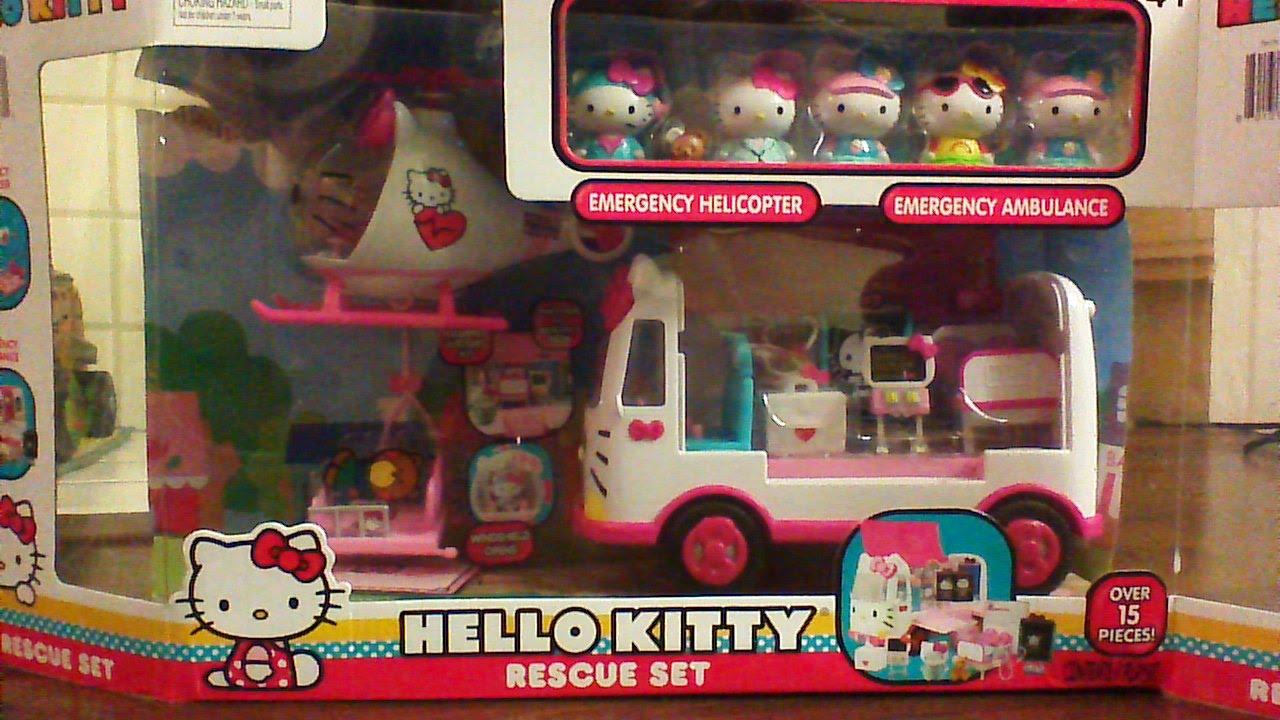 43bc71680b69 The Hello Kitty Rescue Set - YouTube