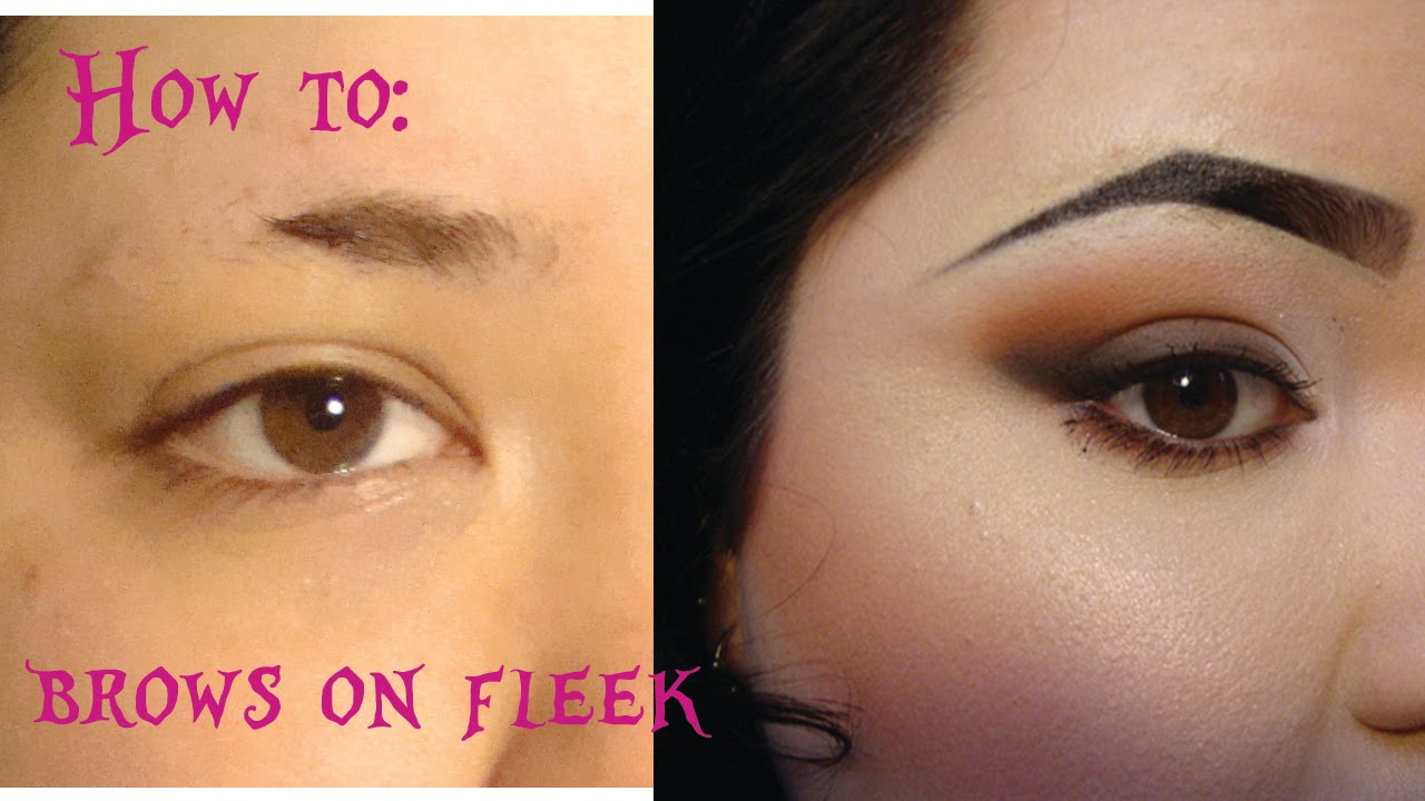 Brows On Fleek Sculpted And Defined Youtube