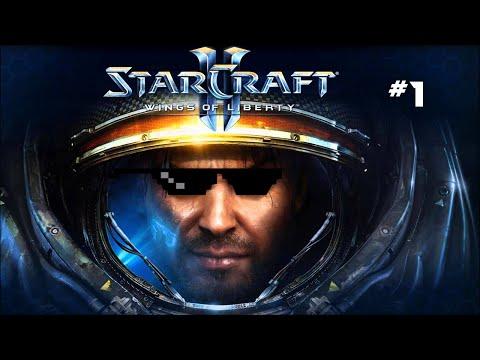 Starcraft 2: Wings of Liberty végigjátszás #1 | Live