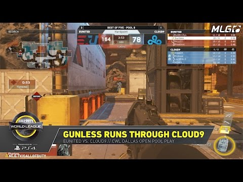 Gunless Runs Thru Cloud9 - #CWLDallas Open