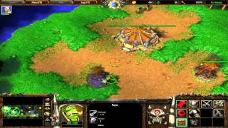 Warcraft 3 Tft 1.26 - Melee Game  Me  Orc  Vs Computer Insane  Human