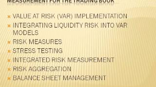 MESSAGES FROM THE ACADEMIC LITERATURE ON RISK MEASUREMENT FOR THE TRADING BOOK
