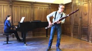 L. Milde, Tarantella, Op.20, Bassoon, Arthur Edman
