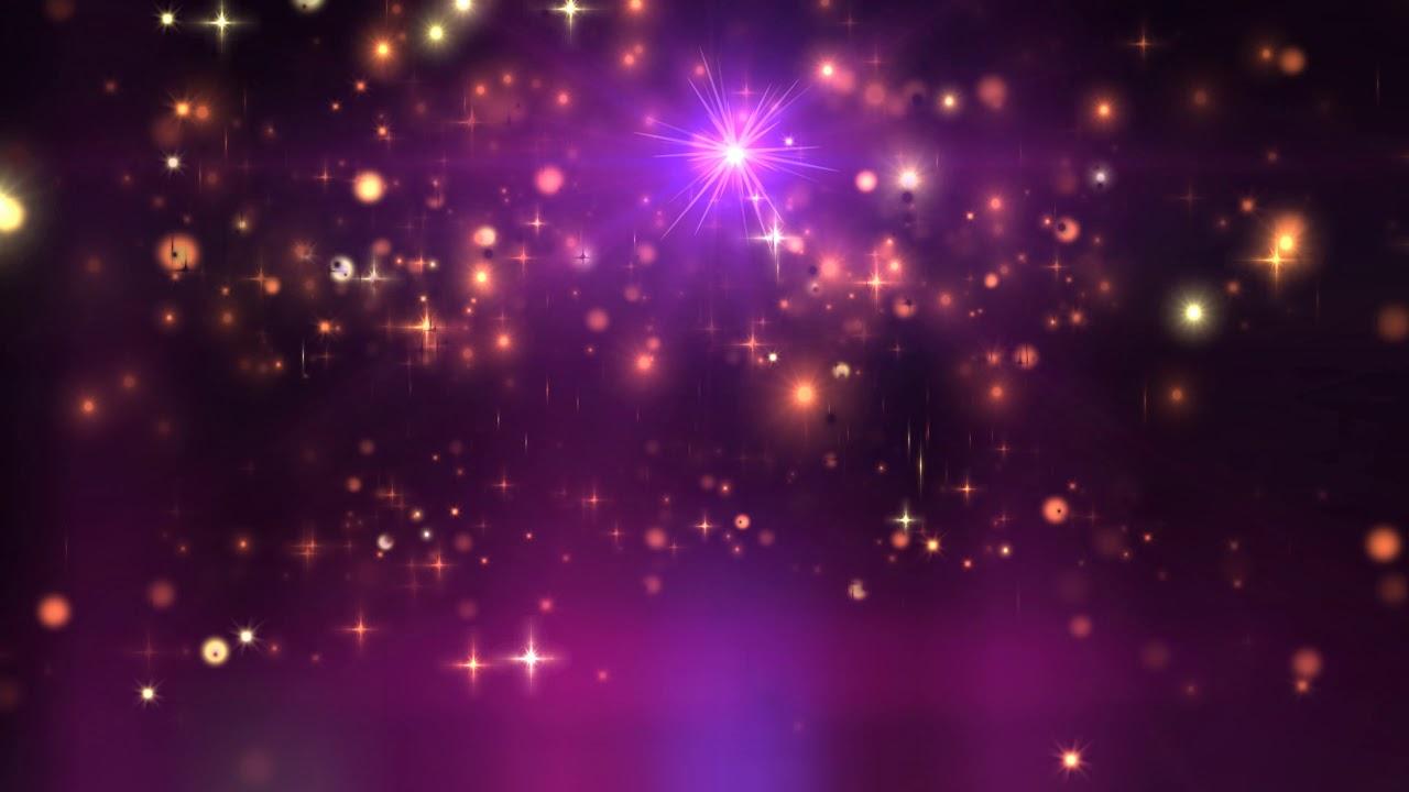 Free Fall Screensavers Wallpaper 4k 10 00 Min Purple Orange Glittering Stars