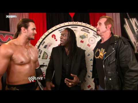 Raw: Sweet Chin Music befalls Drew McIntyre