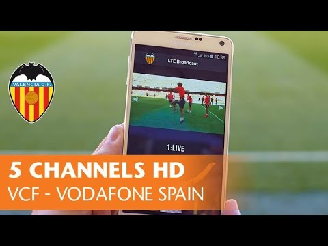 How Valencia CF used LTE broadcast innovation to create great fan engagement