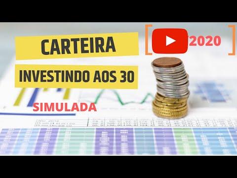 Carteira Investindo aos 30 - Jun/2020