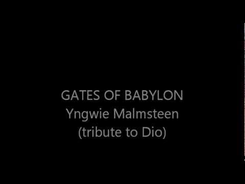 Yngwie Malmsteen - Gates of Baylon (Tribute to Dio) Subtitulada inglés-español