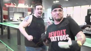 Sausage & The Star Trek Pin Up | For Trek Geeks Bill Smith | Revolt Tattoos |