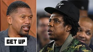 Jay-Z's Roc Nation partnership with the NFL is a positive step forward - Jalen Rose | Get Up