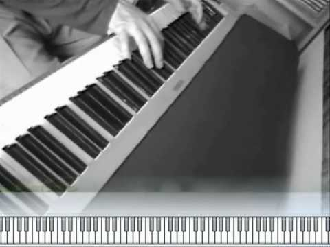 Night & Day - Jazz Piano Improvisation - Kawai ex-pro AcousticsampleS (update)