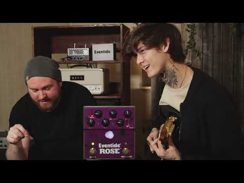 POLYPHIA's Tim Henson Tries The Eventide Rose Delay Pedal at #TGU19! | GEAR GODS