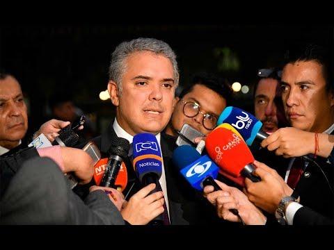 Declaración del Presidente de la República, Iván Duque Márquez - 10 de junio de 2019